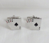 ACES HIGH CUFF LINKS